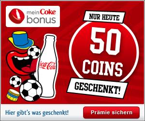 Coke UEFA Gewinnspiel