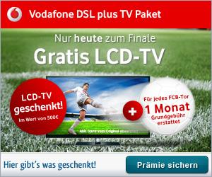 Vodafone DSL und TV