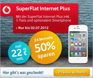 Vodafone SuperFlat Internet Plus