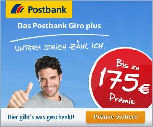 HGWG Postbank 175 Euro