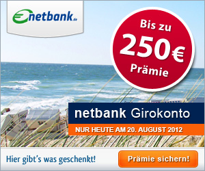 HGWG Netbank 250,00 Euro