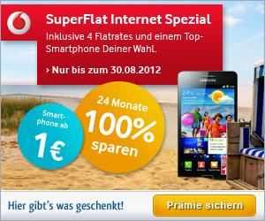 HGWG Vodafone SuperFlat Internet Spezial