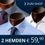 2 Walbusch Hemden 59,90 Euro